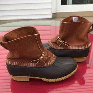 LL Bean duck boots in excellent condition size 10w